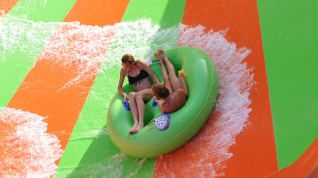 Six Flags America Hosts LGBT Pride Splash and Ride Sunday