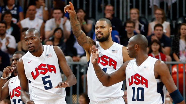 Durant Leads Team USA Over France