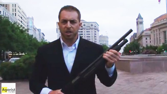 Kokesh Faces Charges in D.C. for Carrying Shotgun