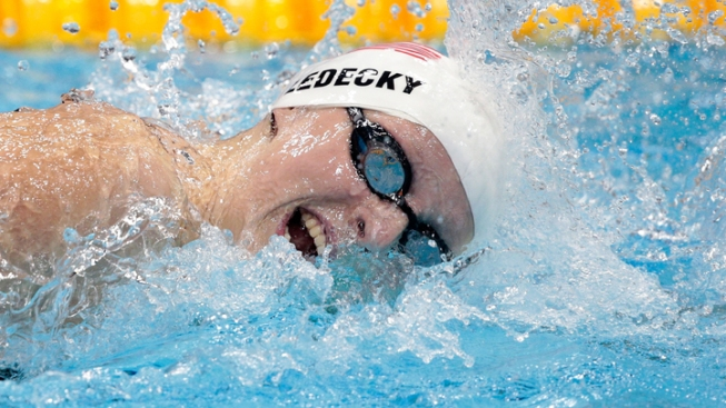Teen Sensation Ledecky Reaches Finals