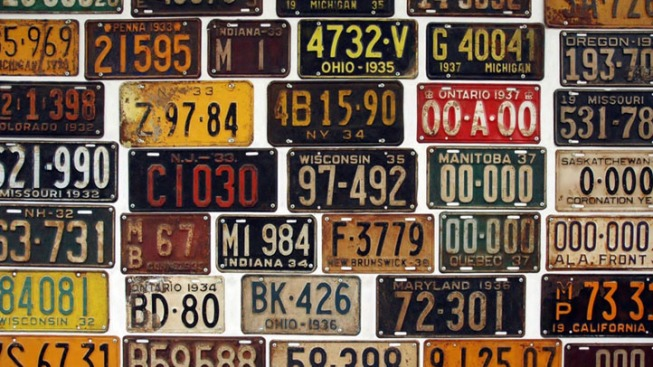 Spike in License Plate Thefts