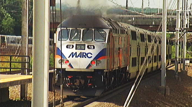 Person Struck by MARC Train; Penn Line Service Delayed
