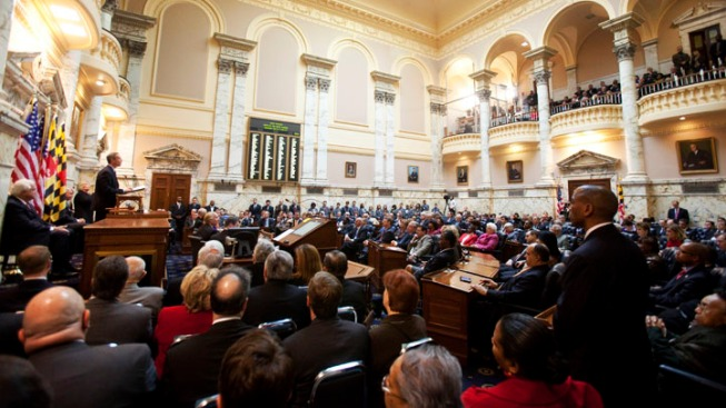 Md. House OKs Congressional Redistricting Plan