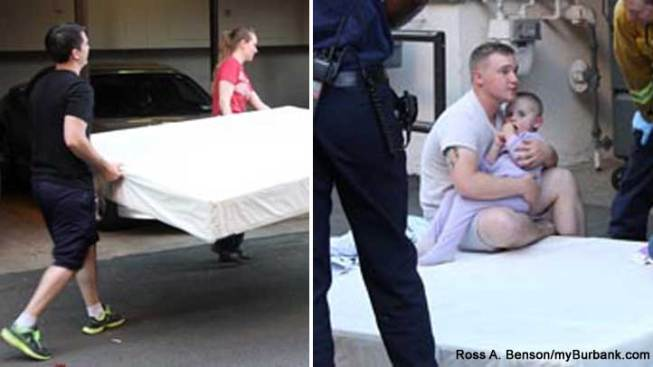 Dangling Toddler Caught by Neighbor After 3-Story Plunge