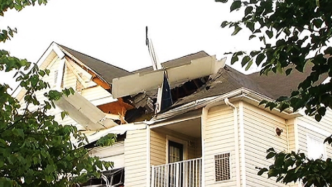 NTSB: Small Plane Lost Power Twice Before Crashing Into Herndon Apartment