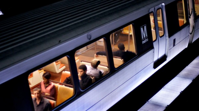 Metro Train Separates With Passengers on Board