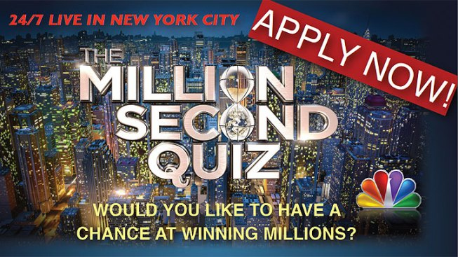 Open Casting Call for Million Second Quiz Set for Aug. 10