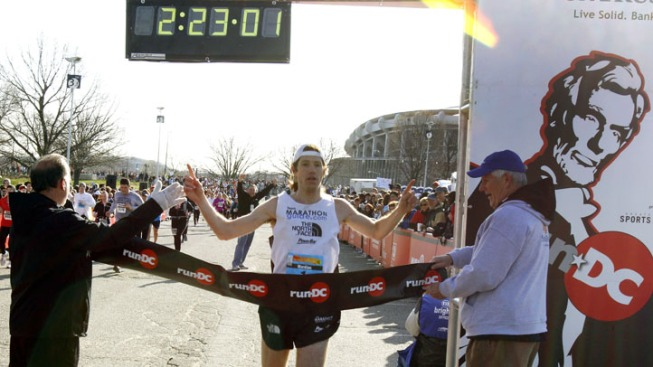 Va. Man Wins 5th National Marathon