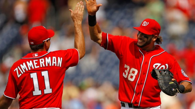 Red Hot Nats Win 8th Straight
