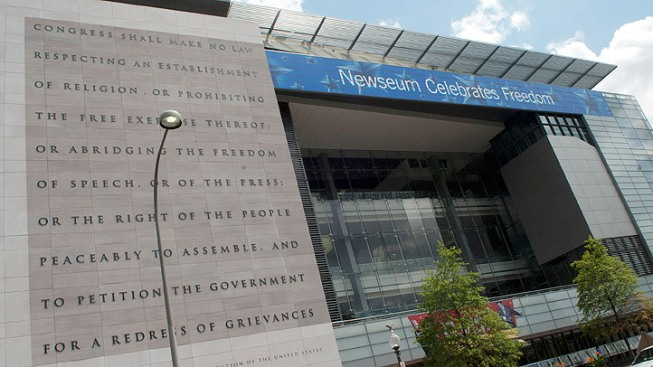 Free Admission at the Newseum, Sept. 10-11