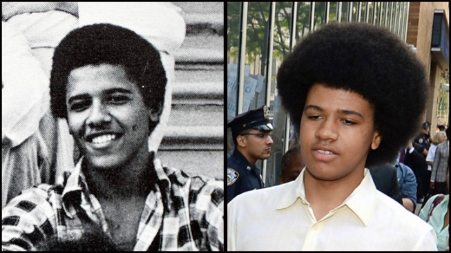 President Obama Praises Hairstyle of Bill de Blasio's Son, Dante