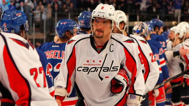 Capitals End Season With Game 7 Loss to Rangers