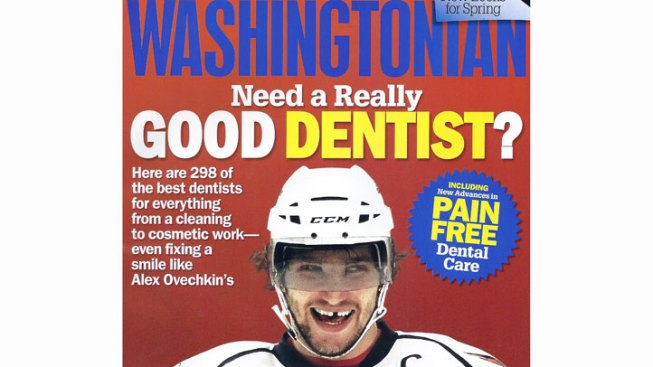 Washingtonian Pokes Fun At Ovechkin
