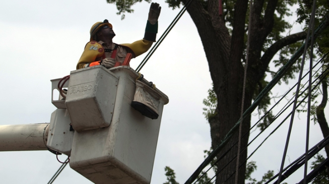 Pepco Restores Power to 95 Percent