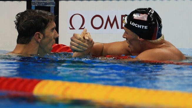 Ryan Lochte Remains in Michael Phelps' Shadow
