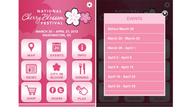 Cherry Blossom Fest: There's an App for That