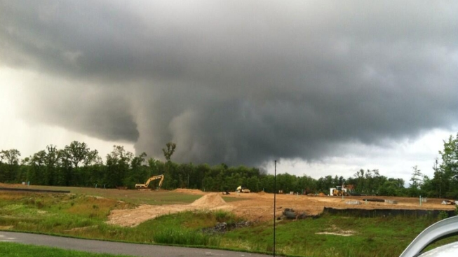NWS: Tornado Touched Down in Md. Monday