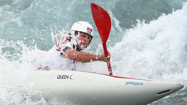 Kayaking Queen's Olympic Run Ends