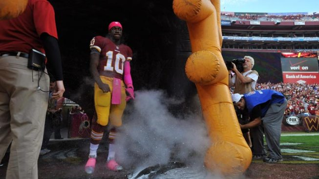 RGIII's Fully Operational as Cowboys Come to Town