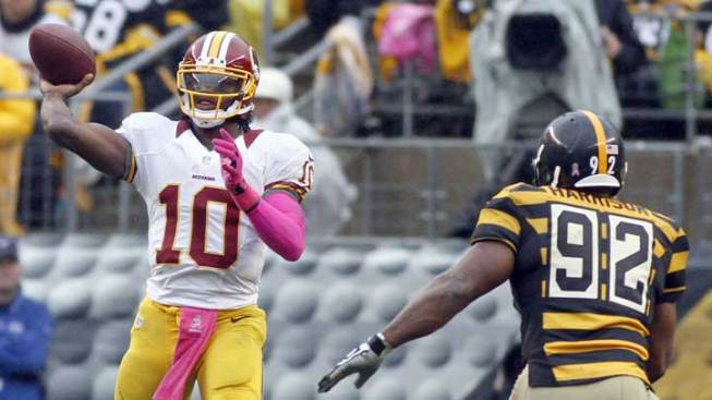 RGIII Lone Bright Spot in 'Skins Loss