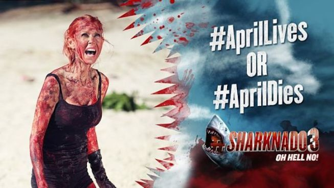 'Sharknado 4' Is Happening and You Get to Decide if Tara Reid's Character Lives or Dies
