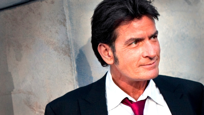 Charlie Sheen Returns to Big Screen as U.S. President