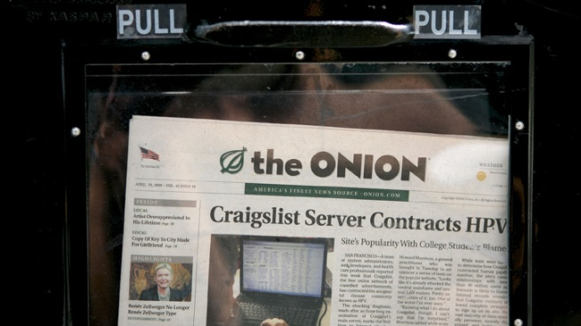 Capitol Police Investigating the Onion's 'Reporting'
