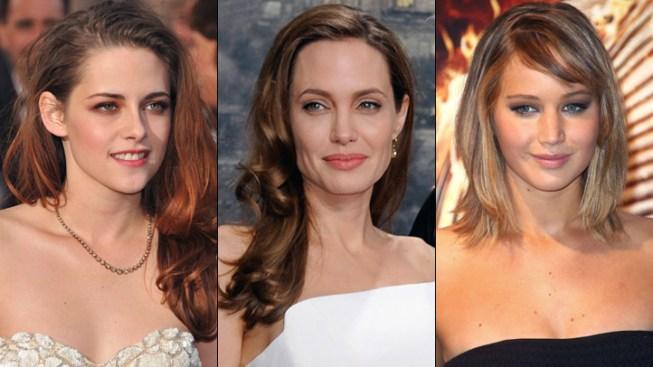 Angelina Jolie, Jennifer Lawrence, Kristen Stewart Top Forbes' List of Highest-Paid Actresses