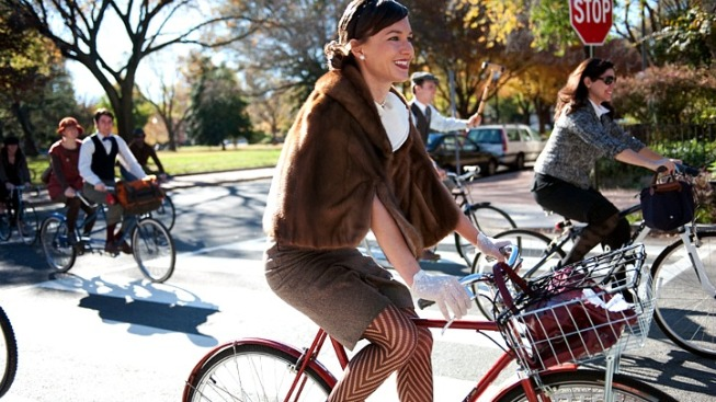 Dandy Cyclists Invade DC Sunday
