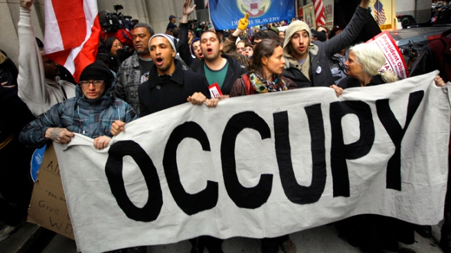 Occupy Wall Street March to D.C. Enters Maryland