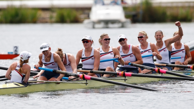 U.S. Wins 2nd Straight Rowing Gold in Women's 8