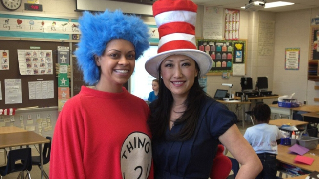 News4 Today Team Joins Read Across America in Prince George's
