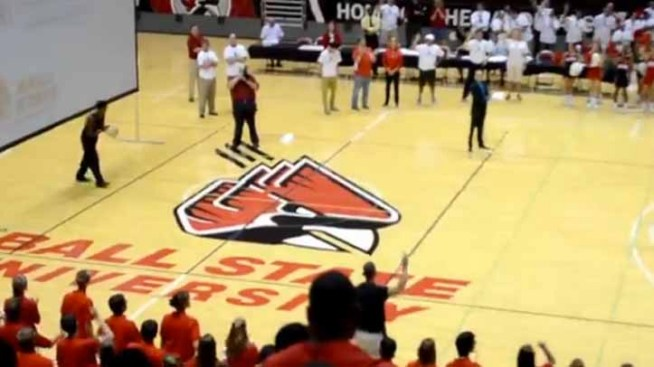 WATCH: Ball State Freshman Sinks Half-Court Shot to Win Free Tuition