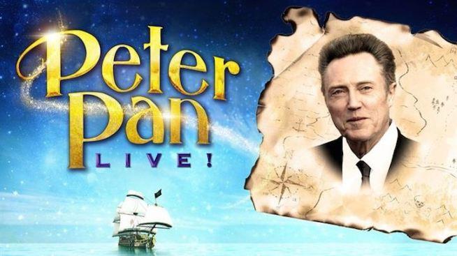 """Christopher Walken to Play Captain Hook in NBC's """"Peter Pan Live"""""""