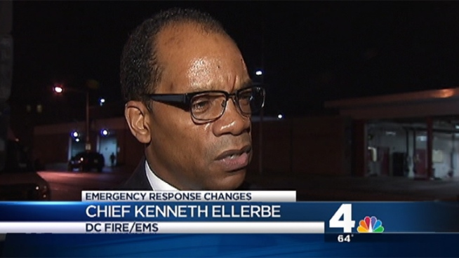 News4's Erika Gonzalez talks with Fire Chief Keith Ellerbe about proposed changes to emergency services in D.C.