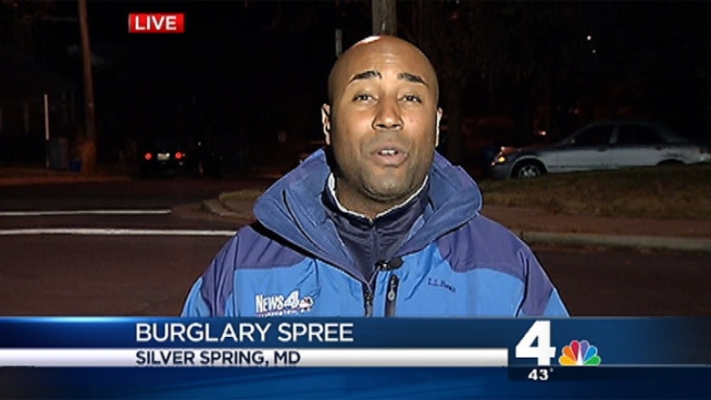 Shomari Stone reports on a series of burglaries in Silver Spring.