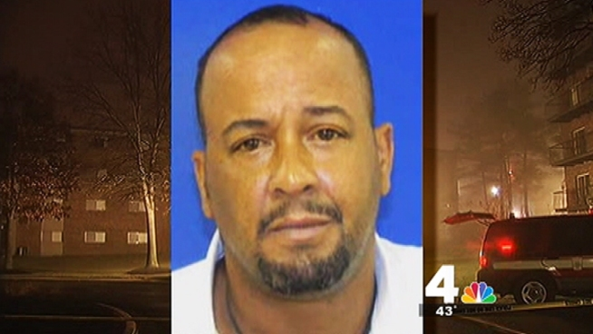 The man suspected of starting a deadly fire was a resident at an apartment building used as a group home for the mentally ill. He was found hiding in the basement of a nearby building after the fire.