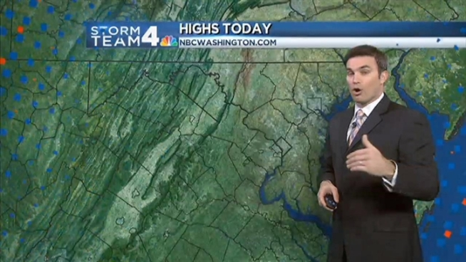 Get the forecast from Storm Team 4 Chief Meteorologist Doug Kammerer.