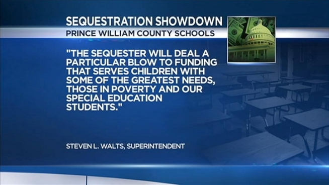 News4's Mark Segraves finds out how area school districts are preparing for sequestration, and gets reaction from parents.