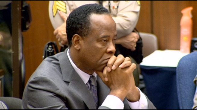 Harsh words from the judge, who handed down the sentence to Dr. Conrad Murray for his conviction in the involuntary manslaughter death of Michael Jackson. NBC4's Patrick Healy reports.