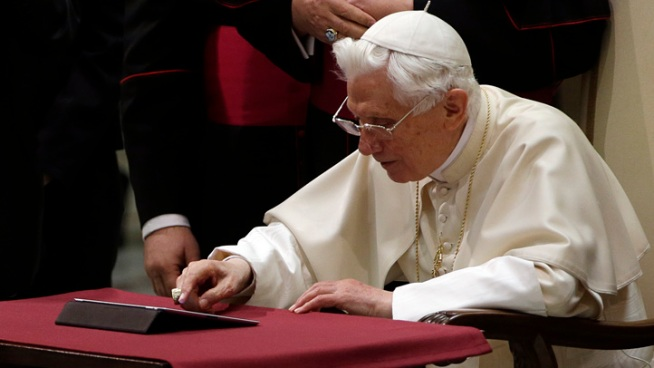 Pope Benedict XVI's Papacy in Photos