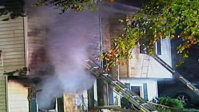 Prince George's County firefighters responded to three fires Sunday morning. One left a woman critically injured. Another displaced dozens of people. News4's Derrick Ward reports.