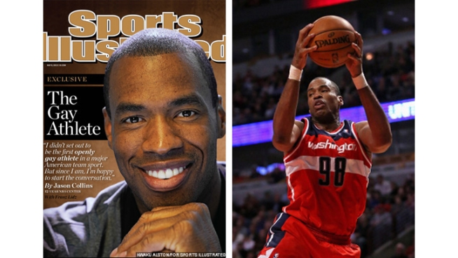 "Wizards' Jason Collins: ""I'm Gay"""