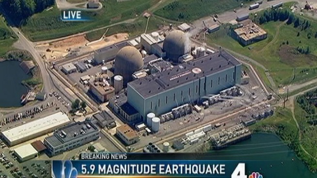 Nuclear Plant Near Epicenter Shuts Down