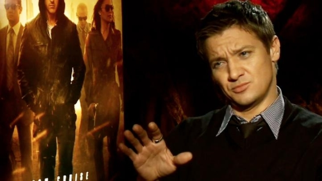 Jeremy Renner talks about how he went from waiting tables to bagging a lead role in the fourth Mission: Impossible film, Ghost Protocol, with Tom Cruise.