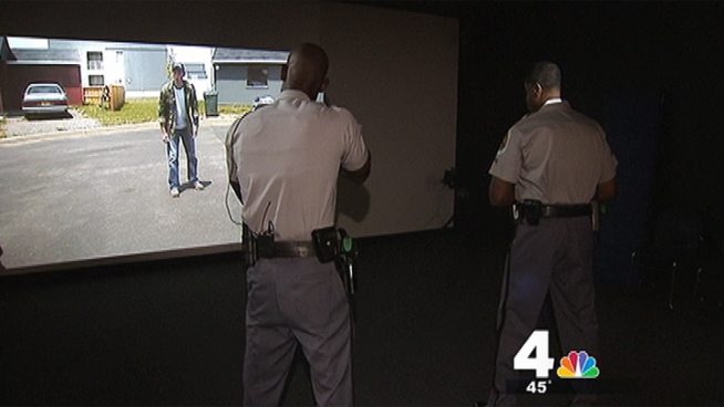Prince George's County Police are using state-of-the-art training scenarios to practice dealing with people high on PCP.