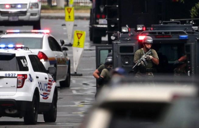 SWAT Team Sent Away From Navy Yard Shooting