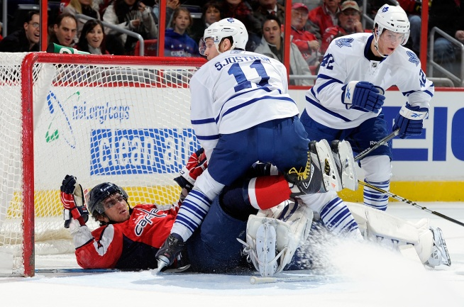 Caps Blow Late Lead Against Leafs, Lose in SO