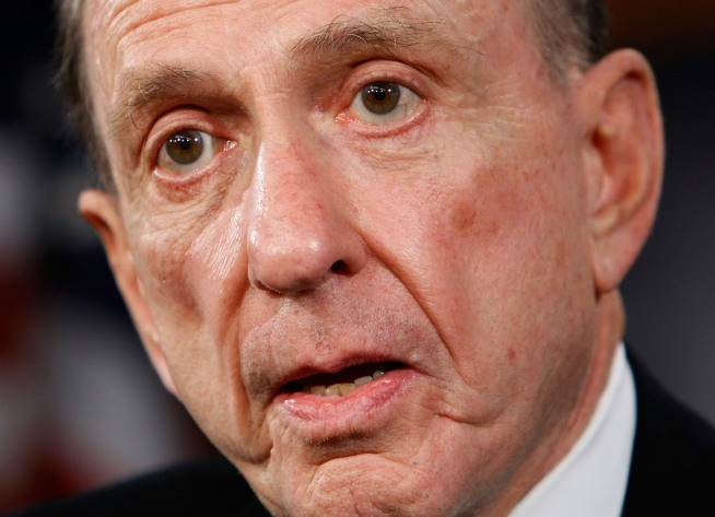 Arlen Specter Hunted Down by Giant Balls