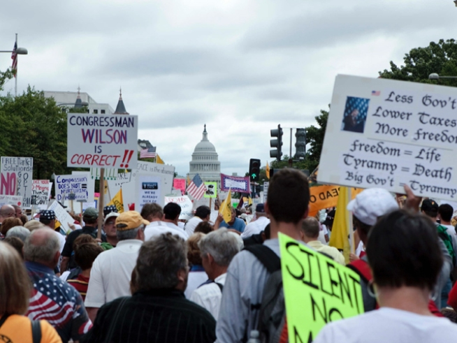 "Conservative Blogs Fooled by ""Tea Party"" Pic"